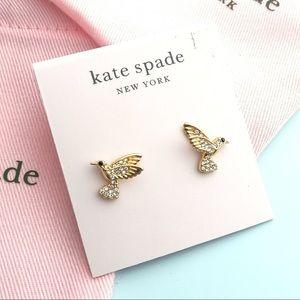 Kate Spade Grandmas Closet Hummingbird Earrings